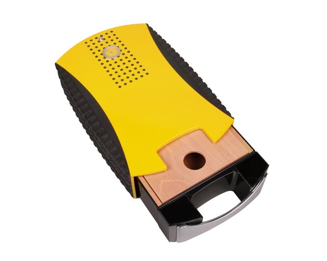Хьюмидор «Авто» жёлтый на 20 сигар - 2
